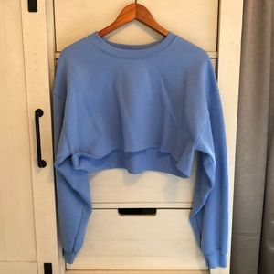 NASTYGAL Sit Back Cropped Sweater